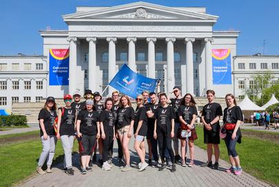 Набор волонтёров Игр стартует в начале августа